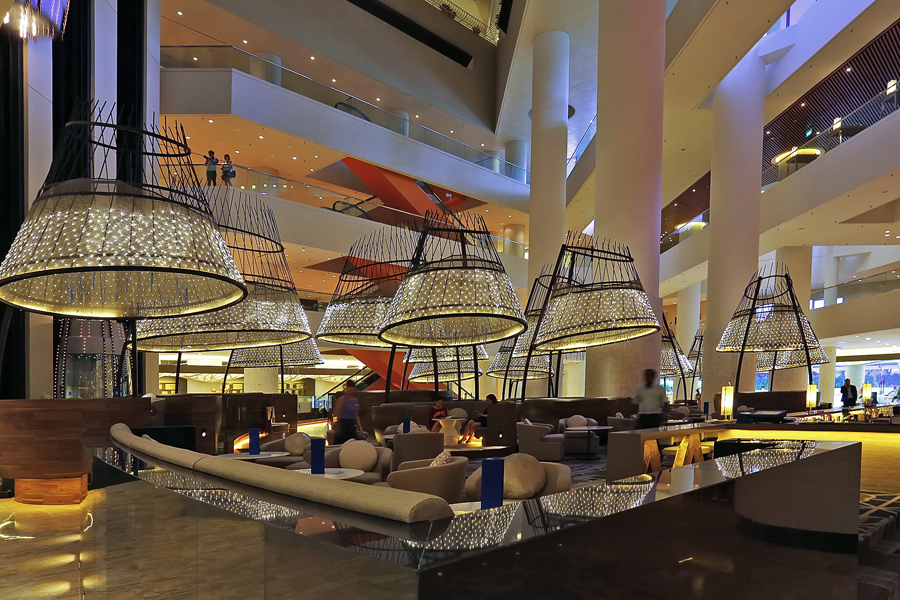 Interior Photography - Pan Pacific Hotel Singapore